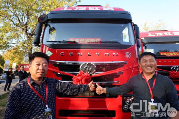 用户点赞上汽红岩国六LNG杰狮C6系列产品