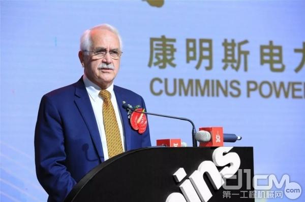 康明斯副总裁、全球动力系统供应链和制造担负人 Iain Barrowman