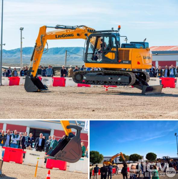 柳工挖掘机和装载机的试驾体验环节