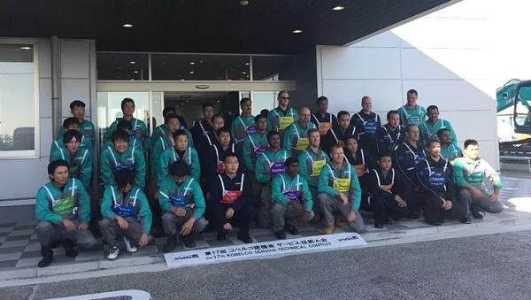 神钢全球服务技能大赛中国队夺冠