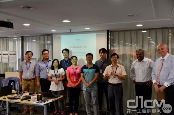 沃尔沃信息技术中国的精英团队(部分)