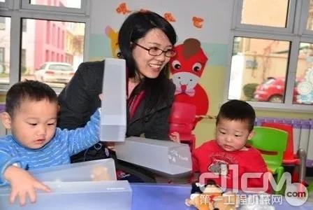 沃尔沃信息技术中国捐助天津儿童福利院