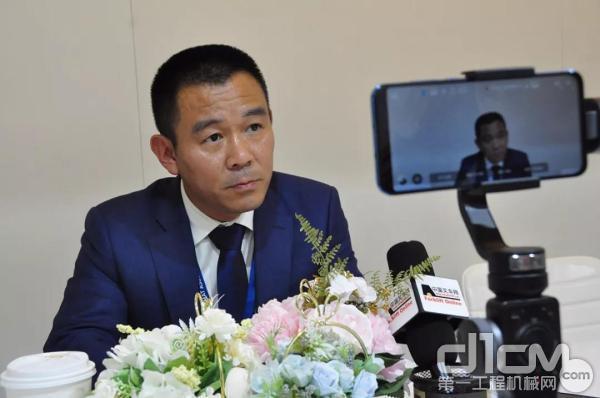 凯傲宝骊(江苏)叉车有限公司总裁朱旭东先生