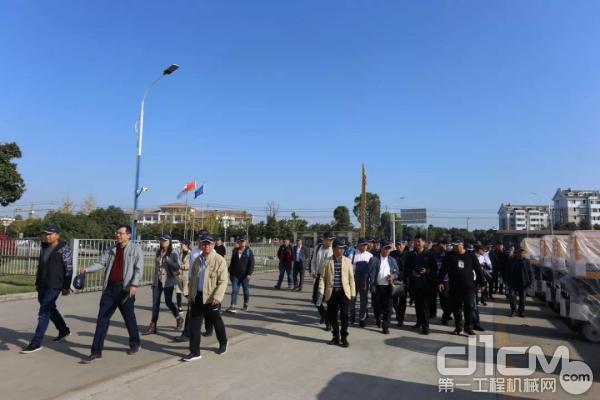 全国吊装协会联盟来访安徽柳工