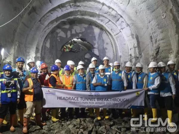 徐工助力印尼标杆水利工程