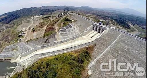 水电十局承建的印尼佳蒂格德水电站