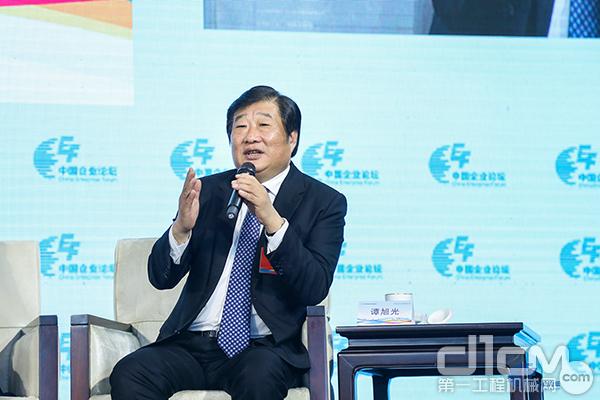 山东重工集团党委书记、董事长谭旭光
