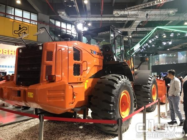 日立建机新型ZW310-5A轮式装载机