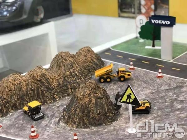 沃尔沃建筑设备模型