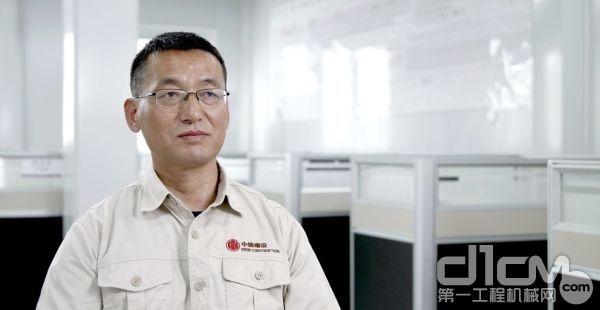 中信建设有限责任公司项目经理杨波