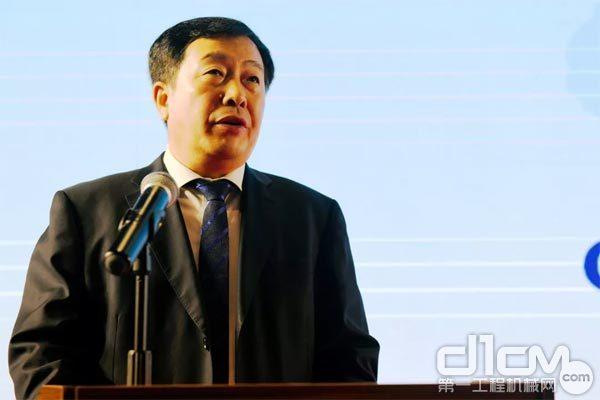 中国铁建总经济师赵晋华现场致辞