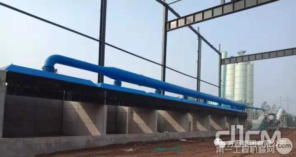 新型拌合站可满足用户的环保清洁化生产