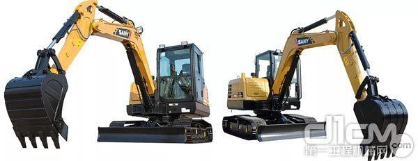 三一SY55C、SY60C小挖