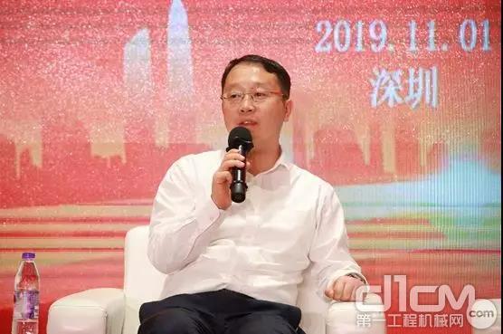 三一重工副总裁、三一重机国际营销公司总经理李沁