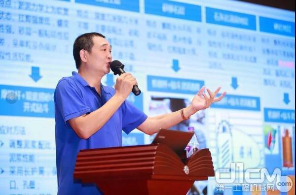 三一印度营销公司副总经理刘仲先生