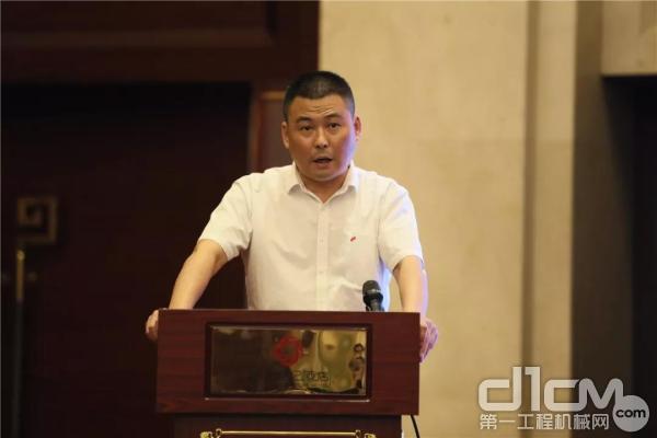 浙江恒久机械集团有限公司技术部长于耀宗