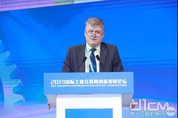 美国信息产业机构总裁Christopher Millward演讲