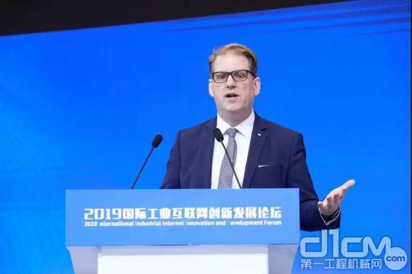 SAP全球副总裁、中国办事处总经理Andreas Hube