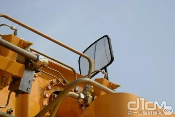 卷扬监视镜尺寸由214×162(宽×高)增加至420×220(宽×高)