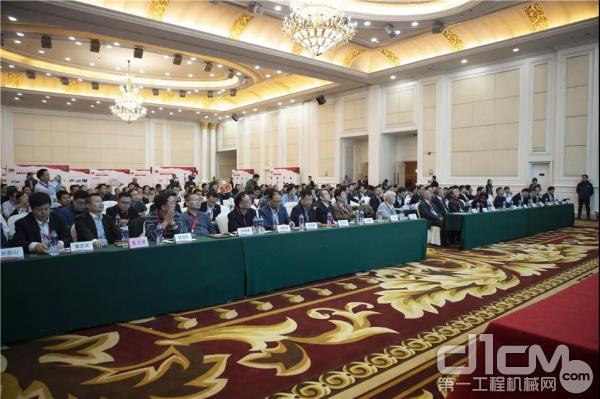 2019年中國樁工機械行業年會現場