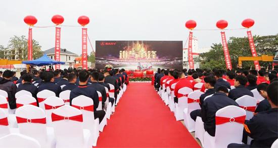 """2019年第三届三一泵送""""巧匠杯""""服务工程师技能比武大赛顺利开跑"""