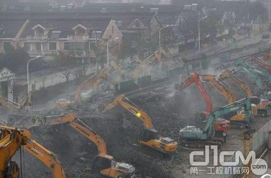11月30日起武汉禁止超国三排放标准工程机械施工