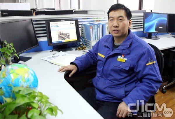 徐工铲运机械事业部技术中心CAE研究所所长王晓明