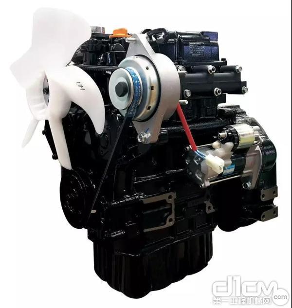 搭载专为KATO量身定制发动机