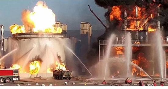 中联重科应急救援装备参与山西消防救援队综合实战演练
