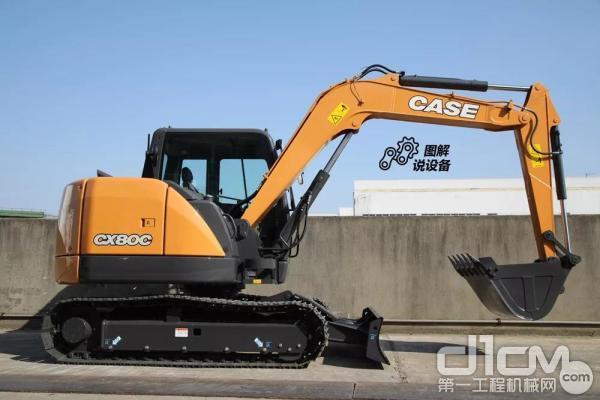 凯斯CX80C挖掘机
