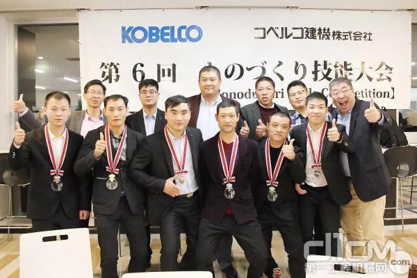 HKCM团队共获得6块奖牌
