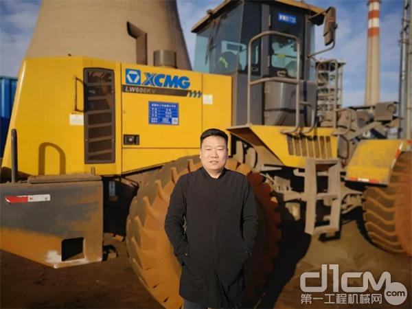 铲运机械事业部营销公司总经理助理张怡显
