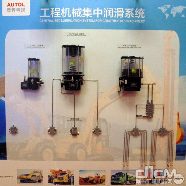 工程机械集中润滑系统