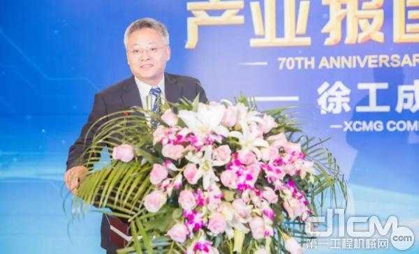 徐工道路总经理、党委书记崔吉胜