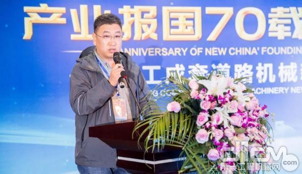 客户代表河北汛泽道路工程有限工程总经理 张杰