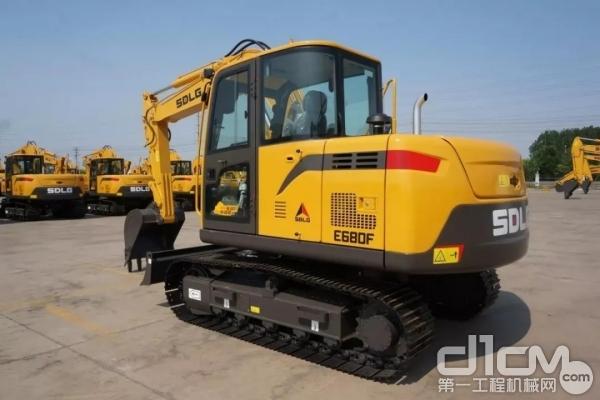山东临工E680F<a href=http://product.d1cm.com/wajueji/ target=_blank>挖掘机</a>