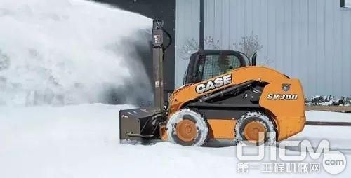 远可将积雪送至15米开外