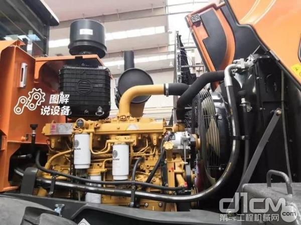 选用潍柴电控高压共轨发动机