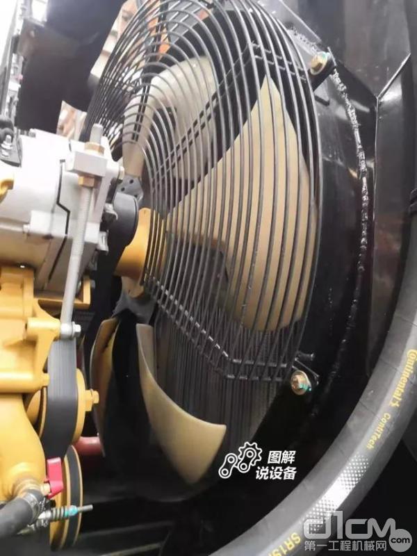 大直径风扇,环式导风罩