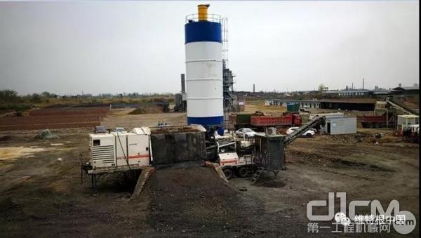 维特根 KMA 220 移动式厂拌<a href=http://product.d1cm.com/lengzaisheng/ rel=