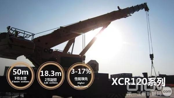 徐工XCR120系列越野轮胎起重机