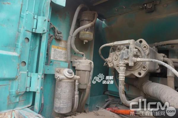 三道滤芯确保进入到发动机的燃油清洁可靠