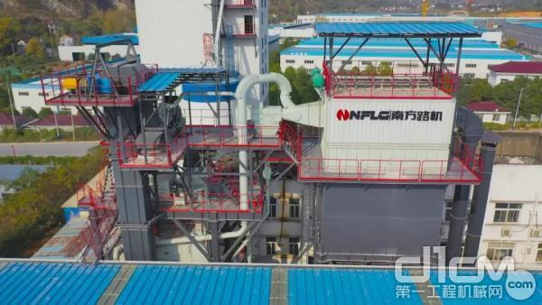 南方路机YCRP40型可移动式零排放湿混凝土回收系统