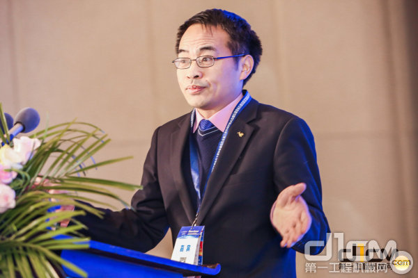 中机科(北京)车辆检测工程研究院有限公司总经理、党委书记刘中星致辞