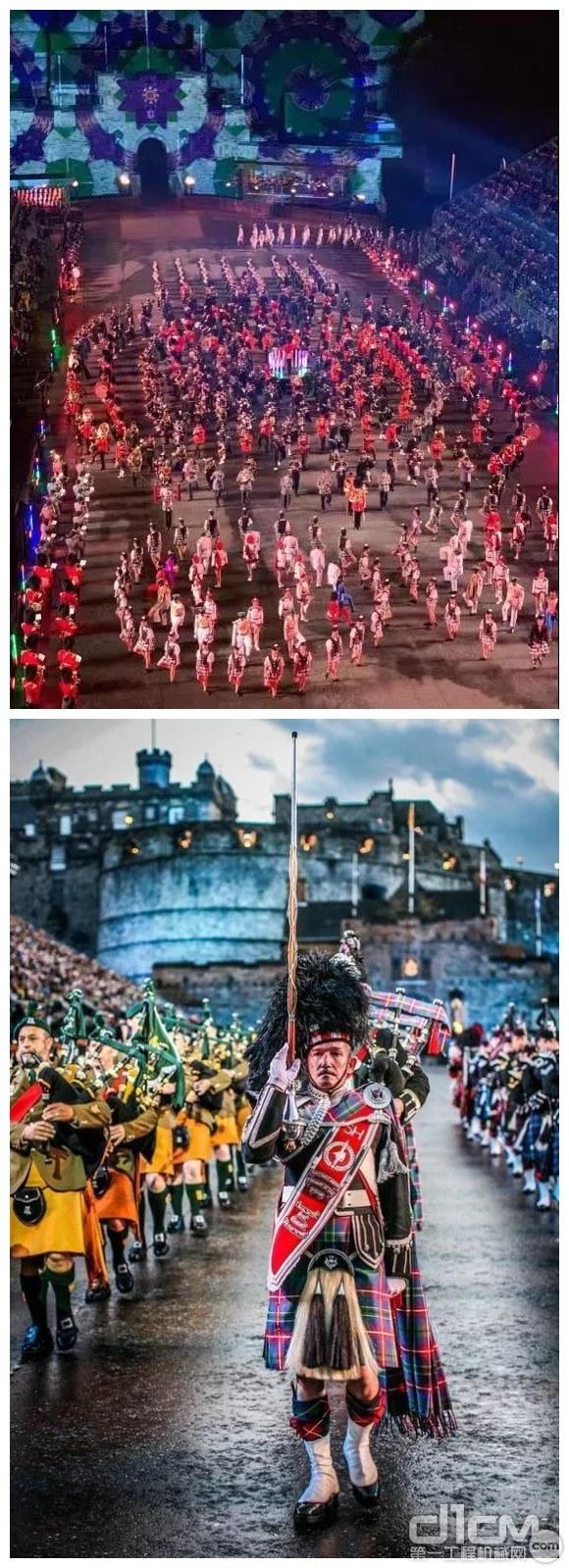 吉尼防墜落組件帶您看世界:感受來自愛丁堡軍樂節的魅力