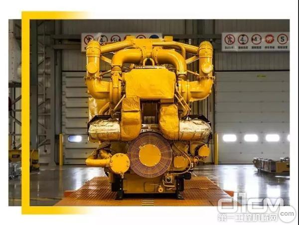 G3516C 型发电机组可直接燃烧 LCMM