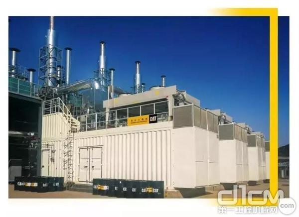 G3516C 型发电机组是卡特彼勒电力在技术领域的突破