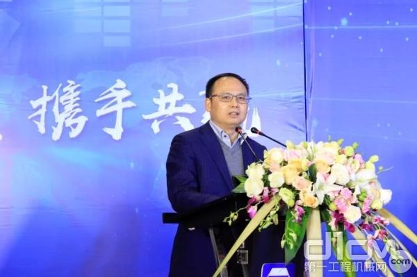江铃汽车股份有限公司第一执行副总裁金文辉致辞