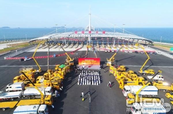 港珠澳大桥施工建设