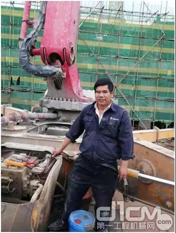 三一泵送新疆服务工程师王志成